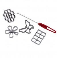 Набор форм для печенья фри 4шт.плитка