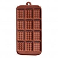JSC126 Форма для шоколада (12 плиток)
