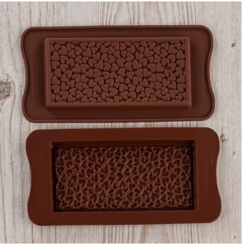 JSC3239 Форма для шоколада сердечки