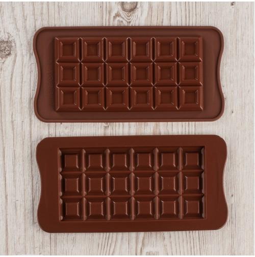 JSC3241 Форма для шоколада плитка 18 шт.