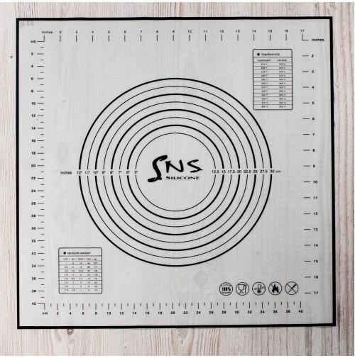 ММ-1036 ZN коврик силиконовый 50*50